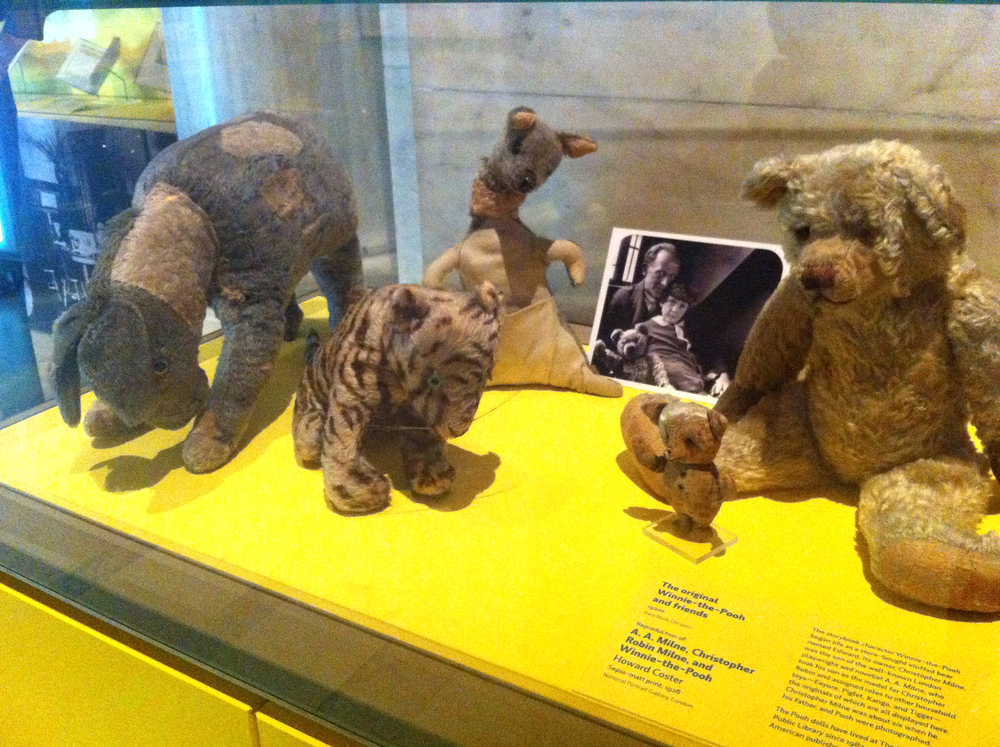 The original stuffed toys that A.A. Milne based the