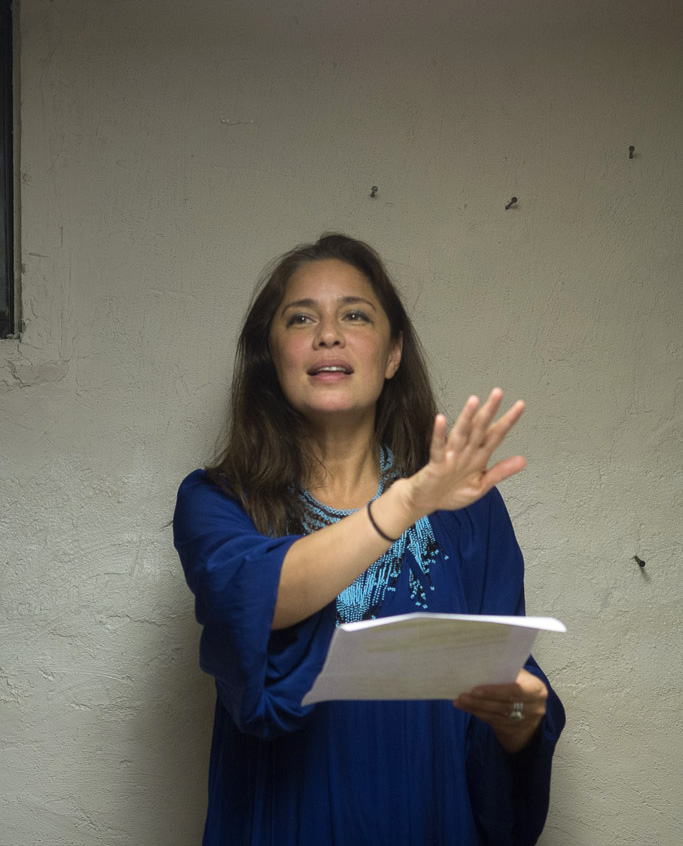 "Mariana Newhard reads ""Amina and the City of Flowers"""